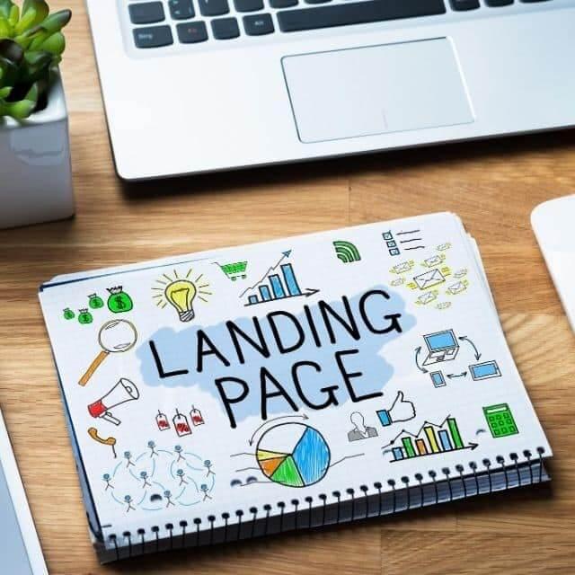 Réussir Landing page